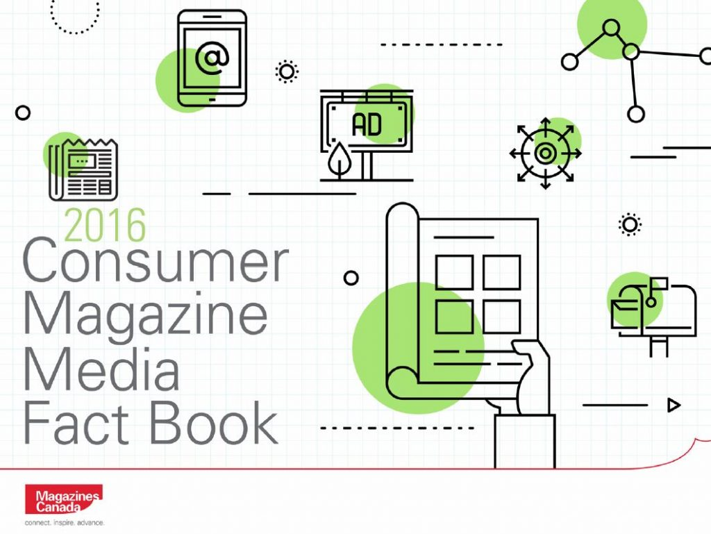 Cover Photo of the 2016 Consumer Magazine Fact Book