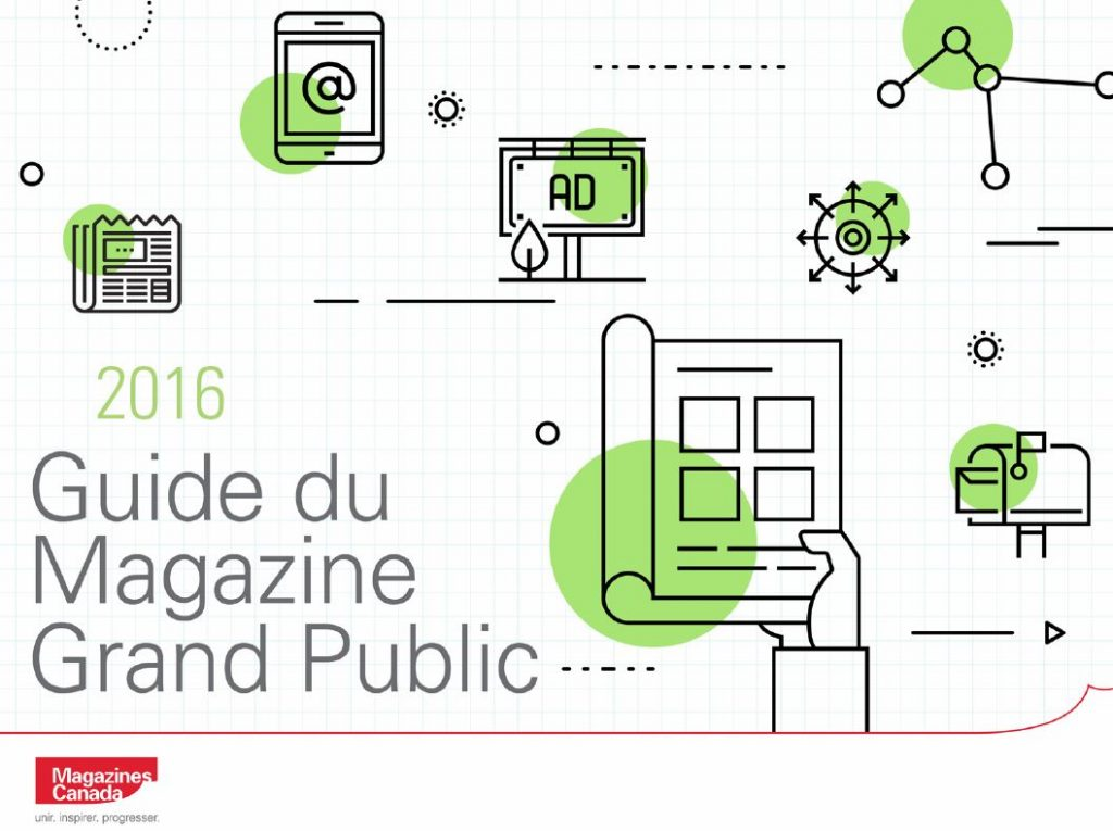 Cover Photo of the French 2016 Consumer Magazine Fact Book