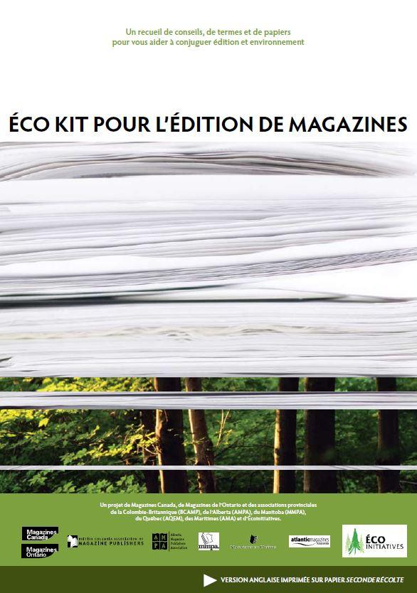 Éco kit pour l'édition de magazines