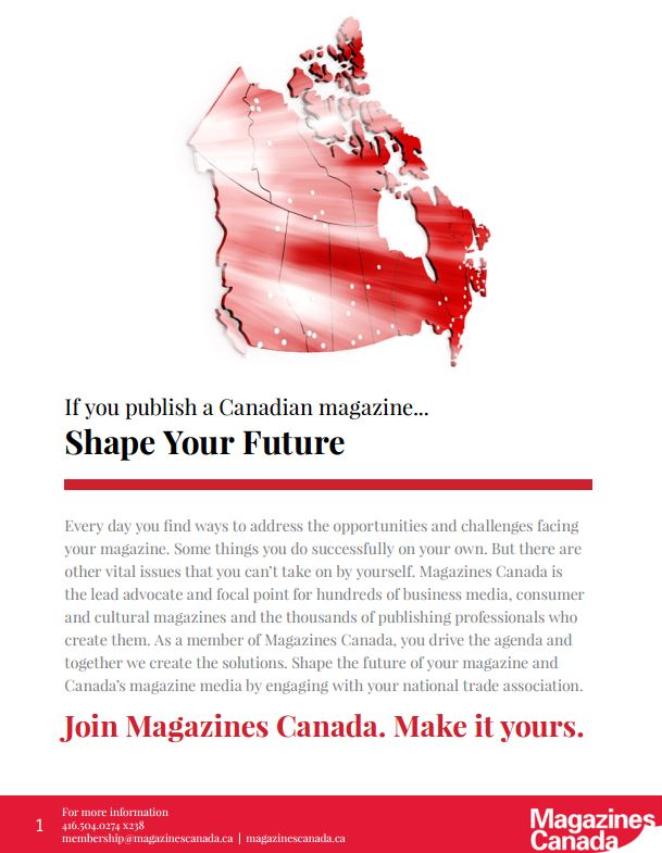 2014–2015 Magazines Canada Membership Kit