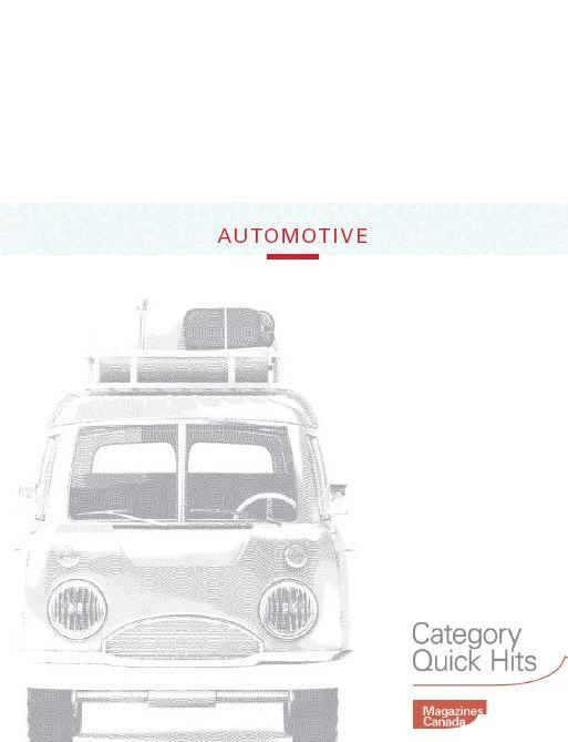 Category Quick Hits: Automotive