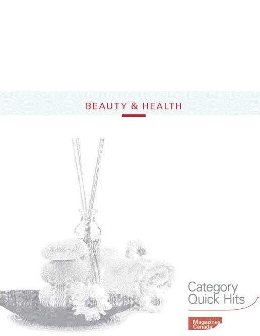 Category Quick Hits: Beauty and Health