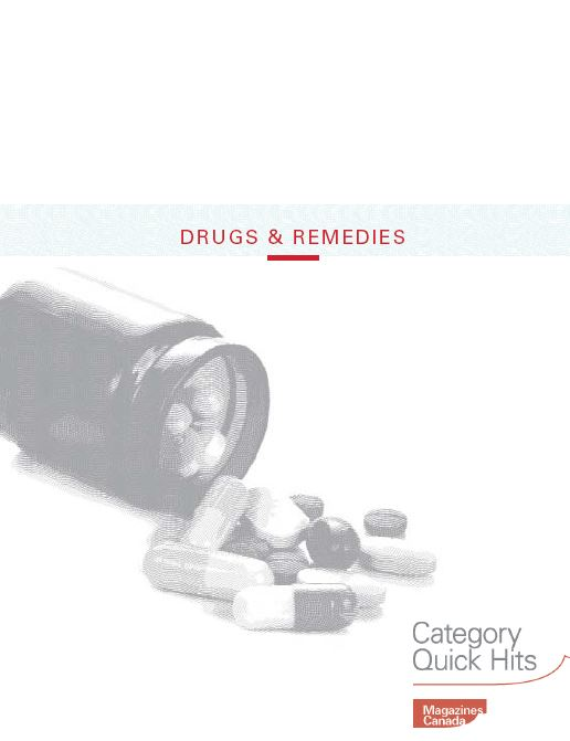 Category Quick Hits: Drugs and Remedies