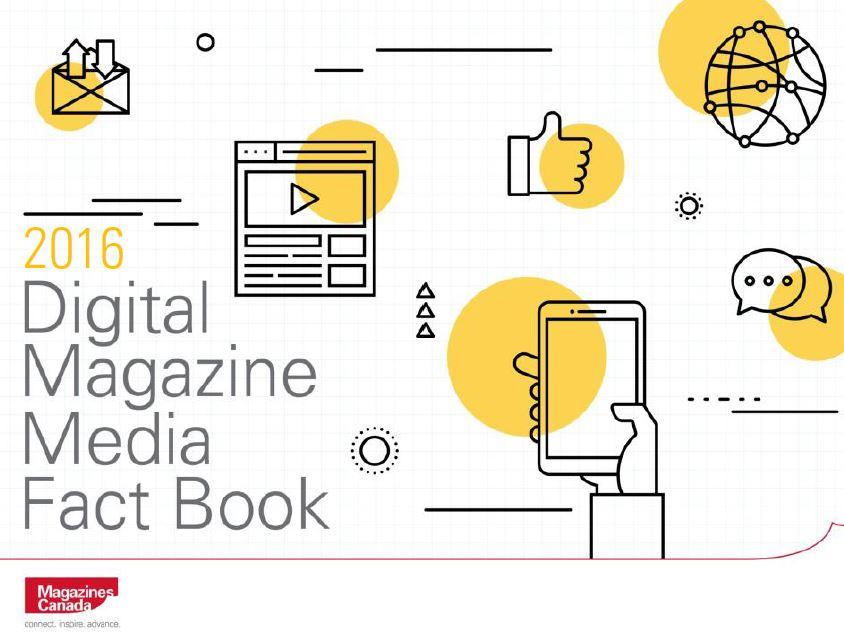 2016 Digital Magazine Media Fact Book Cover