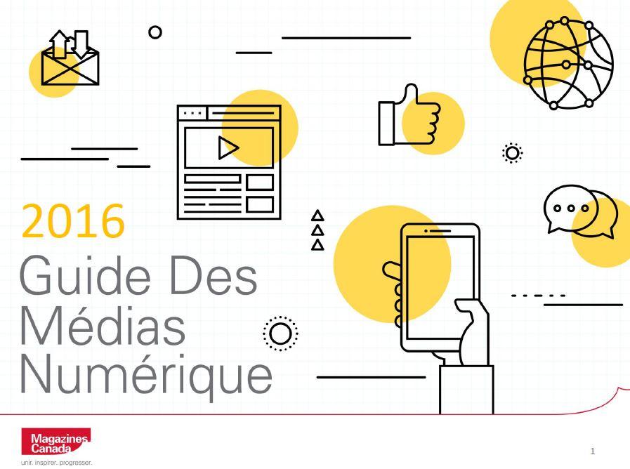 Guide des médias numérique 2016