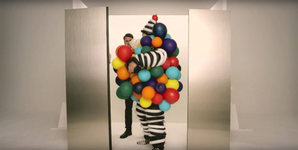 Still from the Canadian Magazine Mashup video, Culture Report