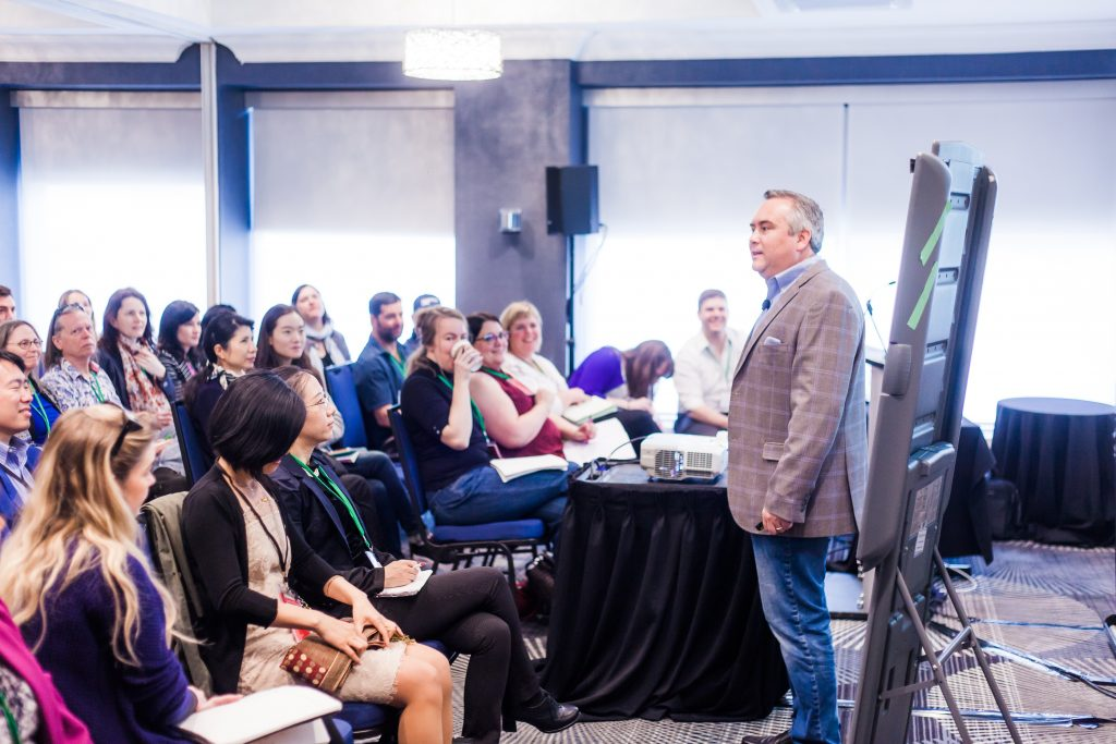 Photo of MagNet 2017 speaker Ryan Dohrn presenting his session Increasing the Total Media Buy