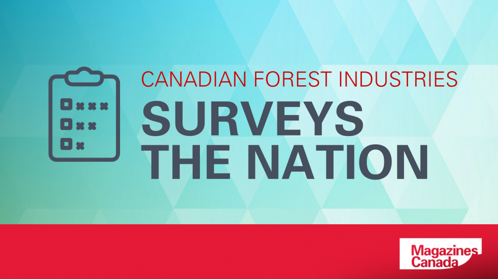 Canadian Forest Industries: Surveys the Nation