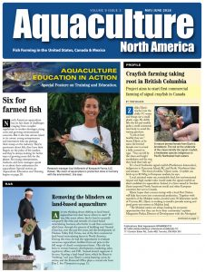 Aquaculture May/June 2018 cover