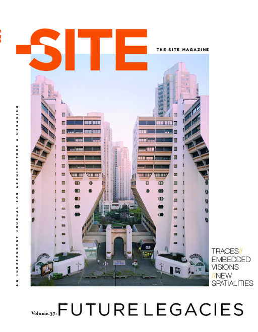 The Site Magazine cover: The Future Legacies issue