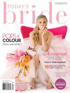 Today's Bride Spring/Summer 2018 cover