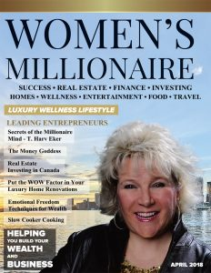 Women's Millionaire April 2018 cover