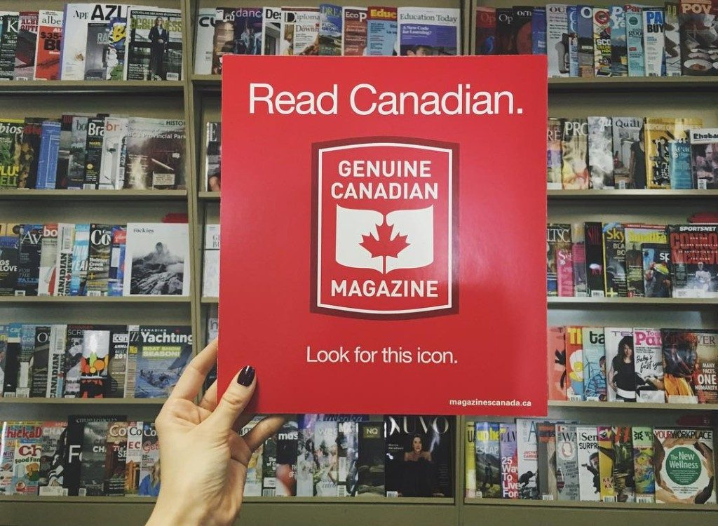 Read Canadian: Magazines Canada celebrates genuine Canadian magazines.