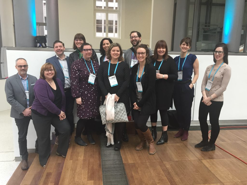 Canadian magazine publishers at the Digital Innovator's Summit, held in Berlin in March 2018.