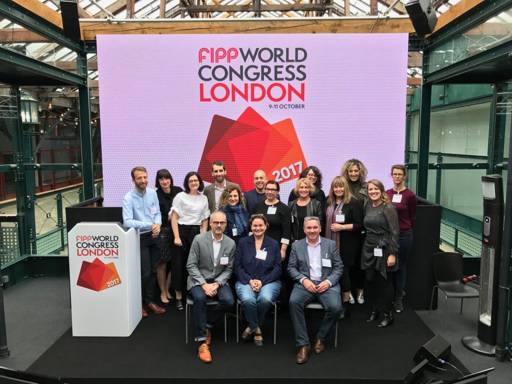 Canadian magazine publishers at the FIPP World Congress, held in London in October 2017.
