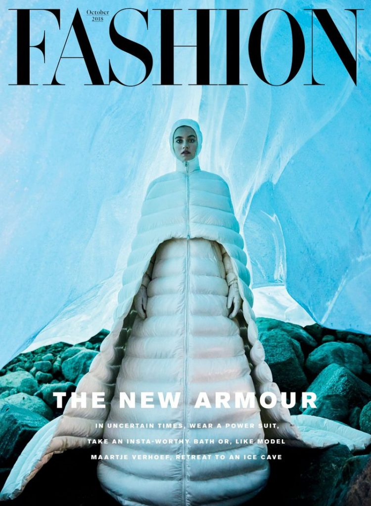 Cover of FASHION's October 2018 issue
