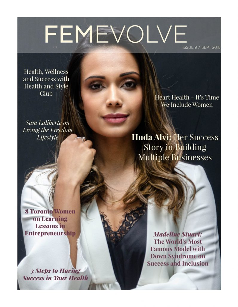 Cover of FemEvolve's 9th issue.