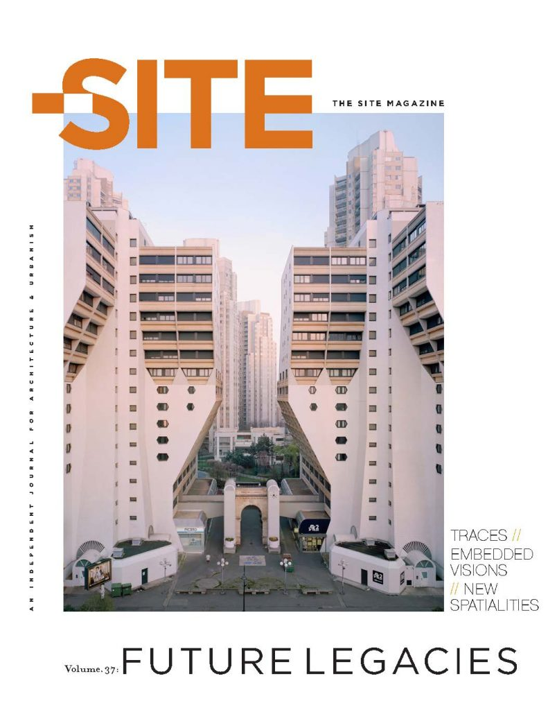 Cover of The Site magazine, volume 37.