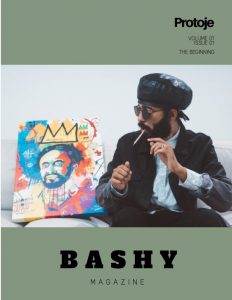 Cover of BASHY Magazine, Volume 01, Issue 01
