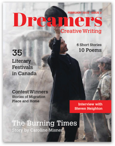 Dreamers Magazine Cover