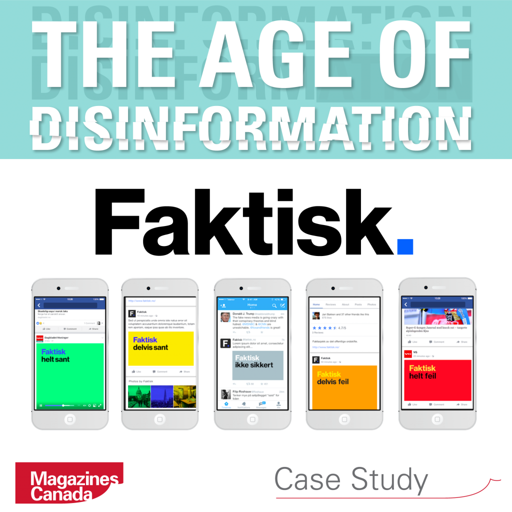 The Age of Disinformation: Faktisk: Norway's Fact-Checking Cooperative
