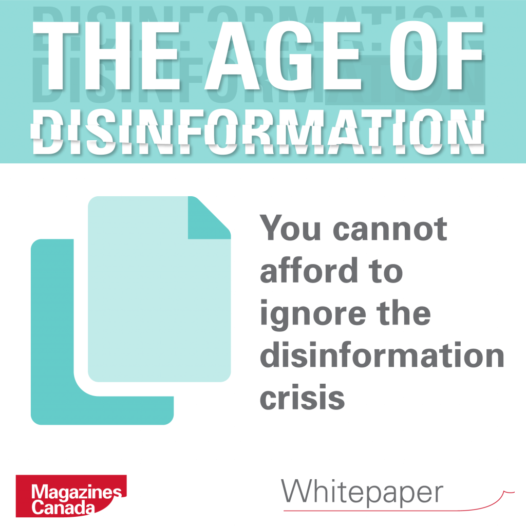 The Age of Disinformation: You Cannot Afford to Ignore the Disinformation Crisis