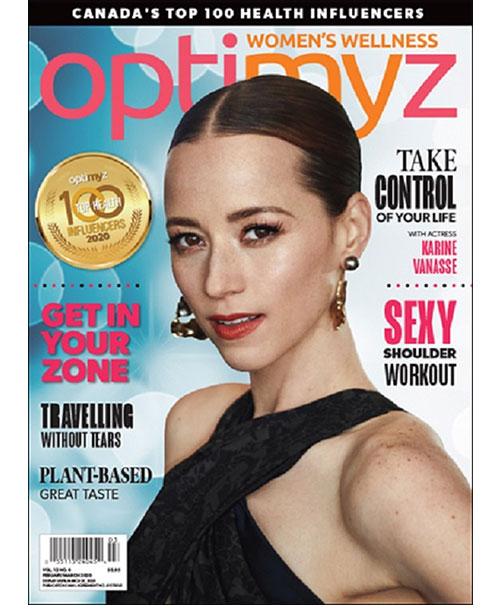 Cover of OptiMYz magazine