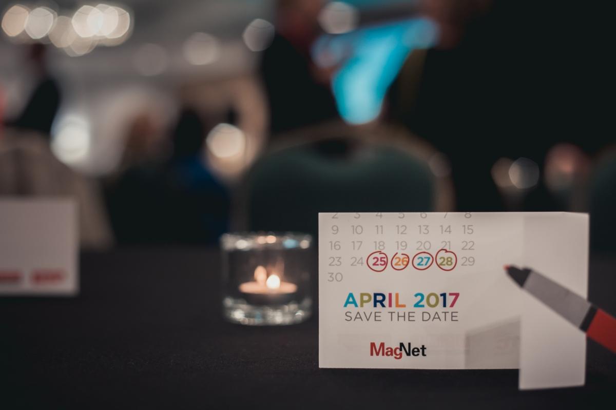 MagNet returns April 25–28, 2017.